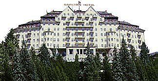 Einer der Paläste des Kippschen Imperiums: Carlton Hotel St. Moritz