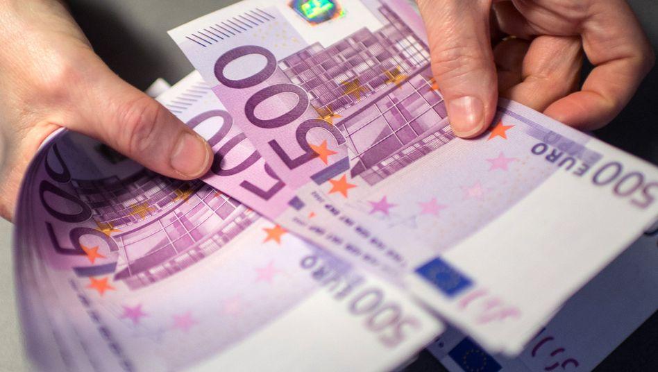 Ab Freitag gibt die Deutsche Bundesbank keine 500-Euro-Scheine mehr aus