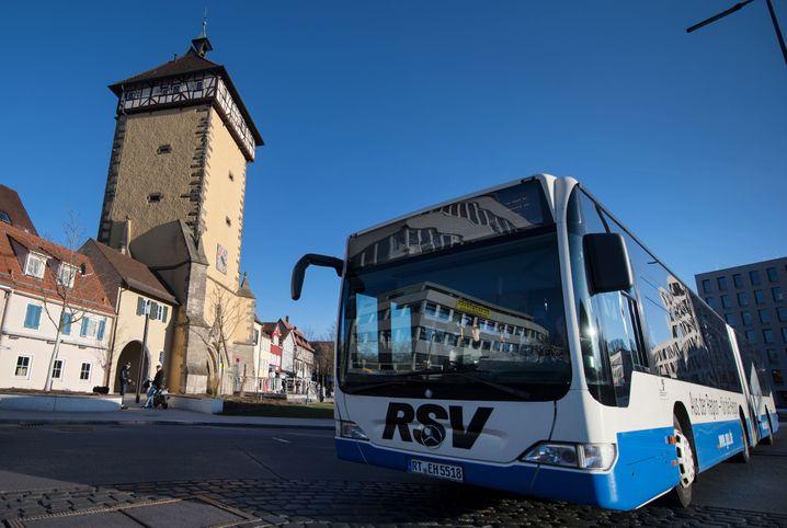 Bus in Reutlingen