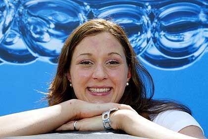 Schwimmerin Hannah Stockbauer: Die Welt- und Europameisterin, 22, will auch nach den Rennen über 400 und 800 Meter Freistil so strahlen können