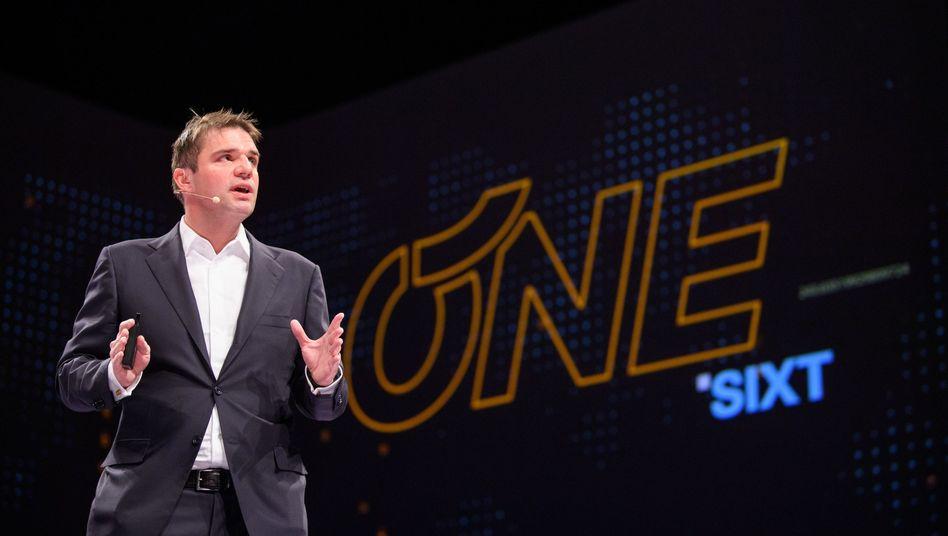 Alexander Sixt ist Strategiechef des gleichnamigen Autovermieters und der älteste Sohn des Firmengründers Erich Sixt
