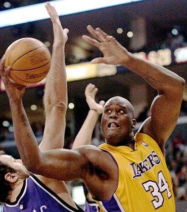 """Shaquille O'Neal: Der Basketballstar der Los Angeles Lakers soll laut """"Times"""" ebenfalls einen Teil seines bereits beträchtlichen Vermögens in Google angelegt haben."""