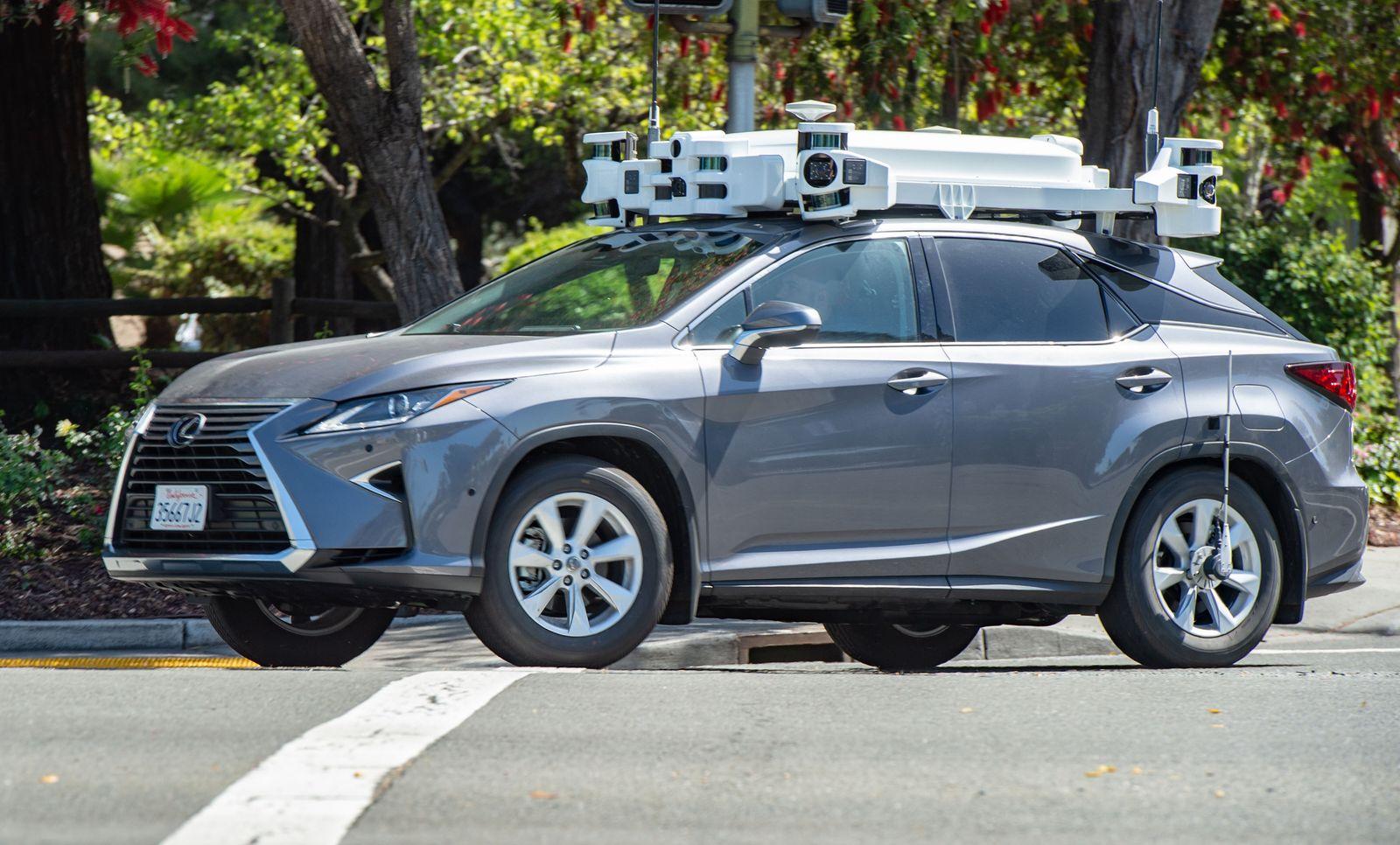 Roboterwagen von Apple