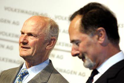 Neuer Vertrag in Aussicht:Aufsichtsratschef Piëch stärkt VW-Vorstand Pischetsrieder