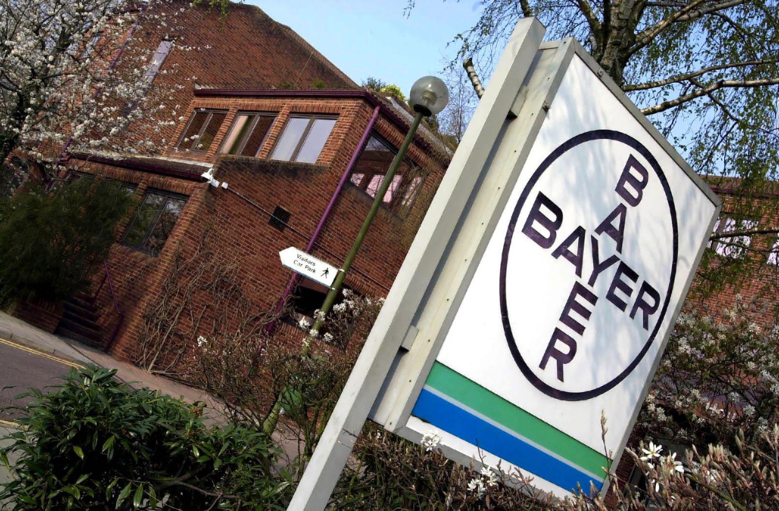 BAYER Zentrale England / Brexit / Pharma-Industrie