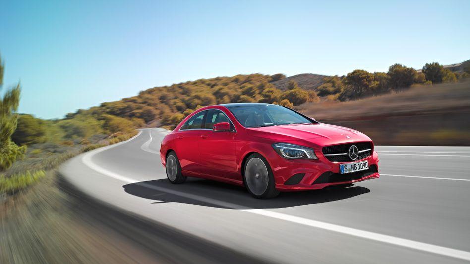 Mercedes CLA: In diesem Jahr dürfte die Neuauflage der C-Klasse Daimler viel Schwung verleihen