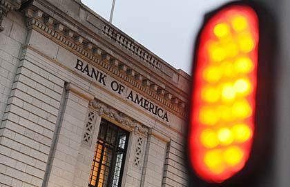 Abgestraft: Aktien der Bank of America verloren heute 4 Prozent