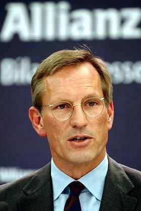 Michael Diekmann Vorstandsvorsitzender Allianz Gesamtbezüge 2003: 4,81 Mio. Euro (Platz 4 im Dax) Quelle: Eigene Recherche