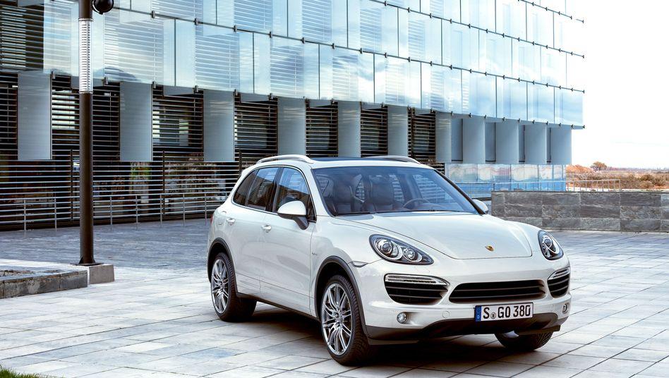 Hat Durst: Porsche Cayenne, ein sogenannter SUV