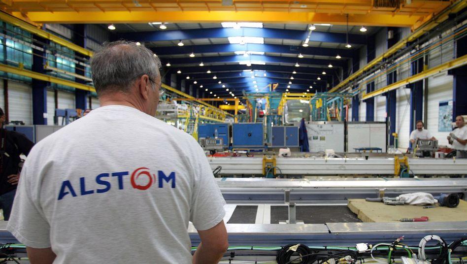"""Alstom-Produktionsanlage: """"Die Beschäftigten würden ihren Beitrag zur Sanierung leisten"""""""