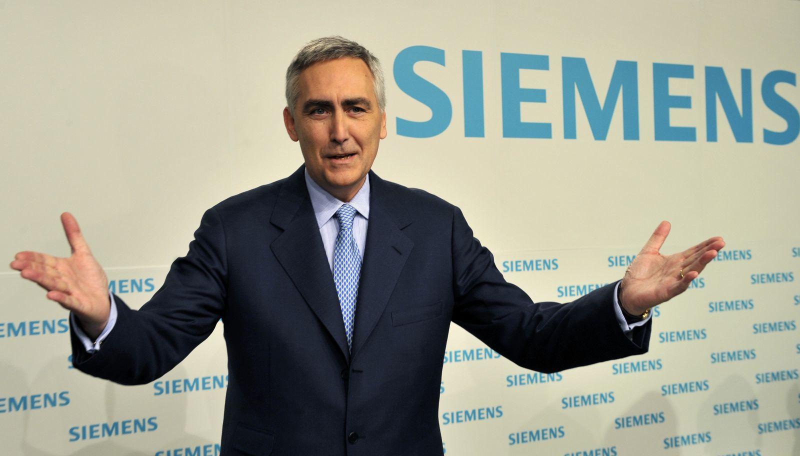 Peter Löscher / Siemens