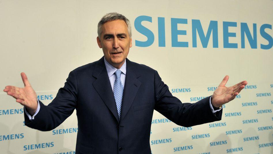 Von Siemens zu Renova: Peter Löscher kann sich an der Holding des russischen Oligarchen Viktor Vekselberg auch finanziell beteiligen