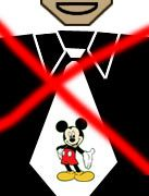 Völlig daneben: Krawatten mit Micky-Maus-Motiven