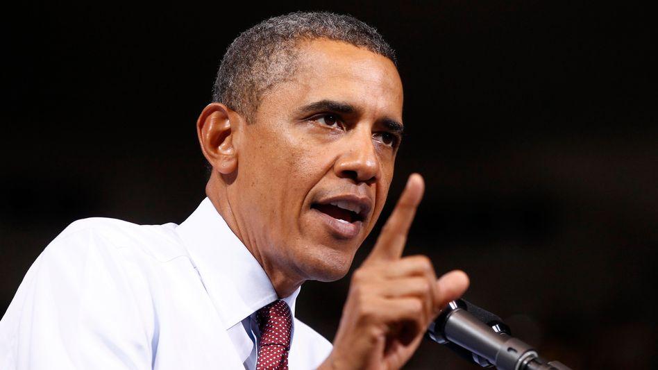 US-Präsident Obama: Höhere Steuern für Reiche - und ein Schnitt bei den Militärausgaben
