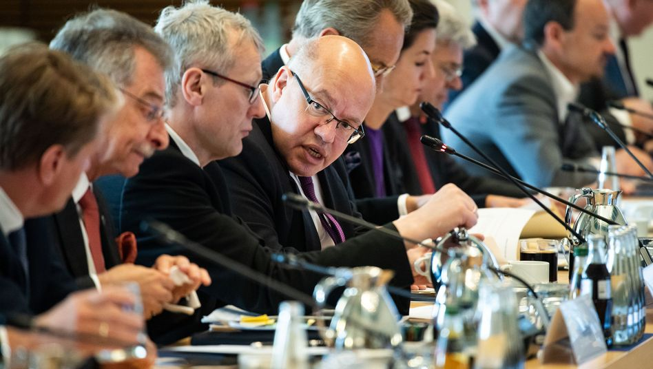 Wirtschaftsminister Altmaier beim Kongress zur Industriestrategie am Montag in Berlin: Schlüsseltechnologien fördern, Unternehmen schützen.