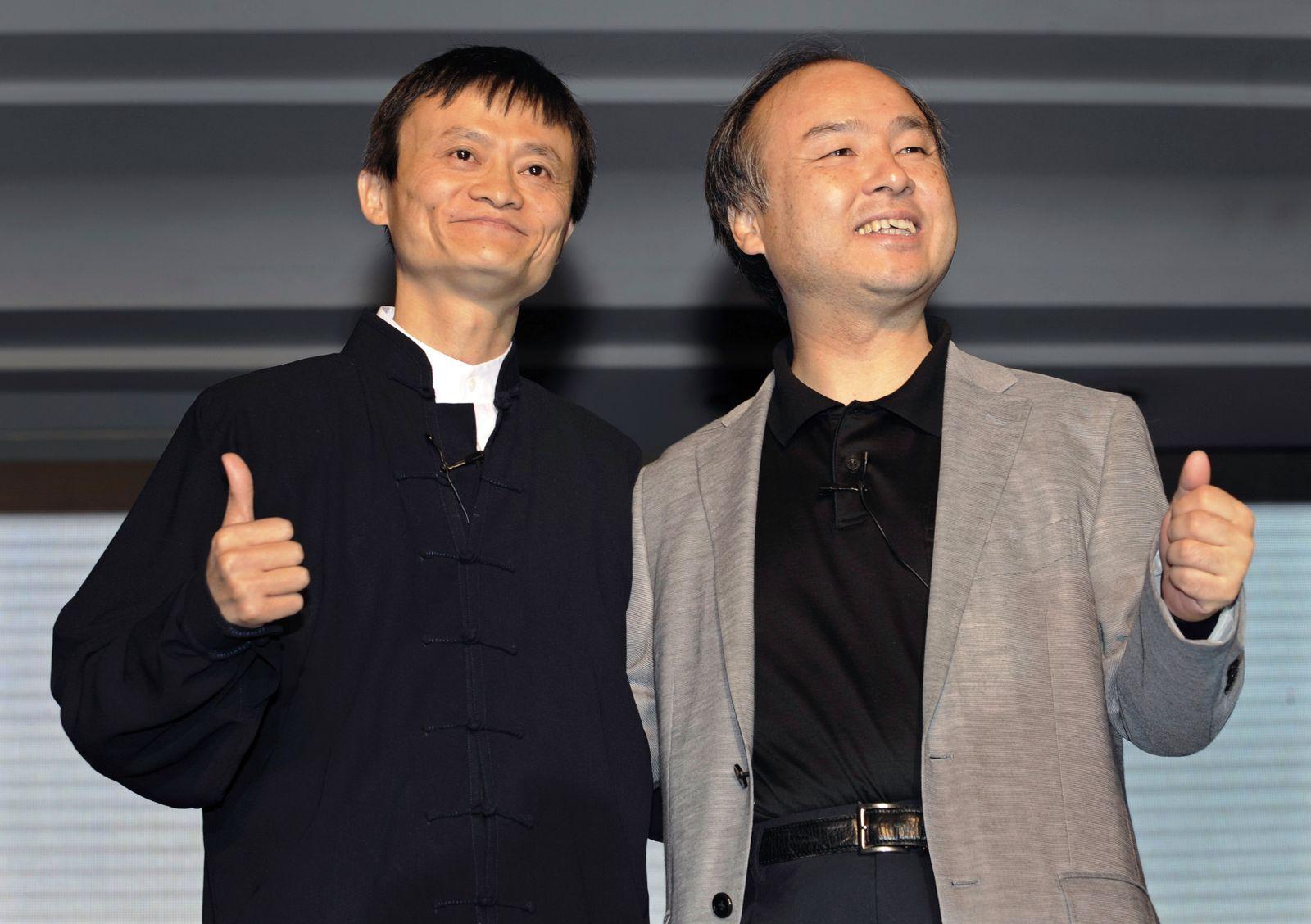Jack Ma / Masayoshi Son