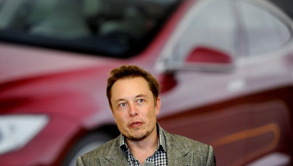 Täglich grüßt das Rekordhoch: Tesla ist an der Börse inzwischen 340 Milliarden Dollar wert (im Bild: Firmenchef Musk)