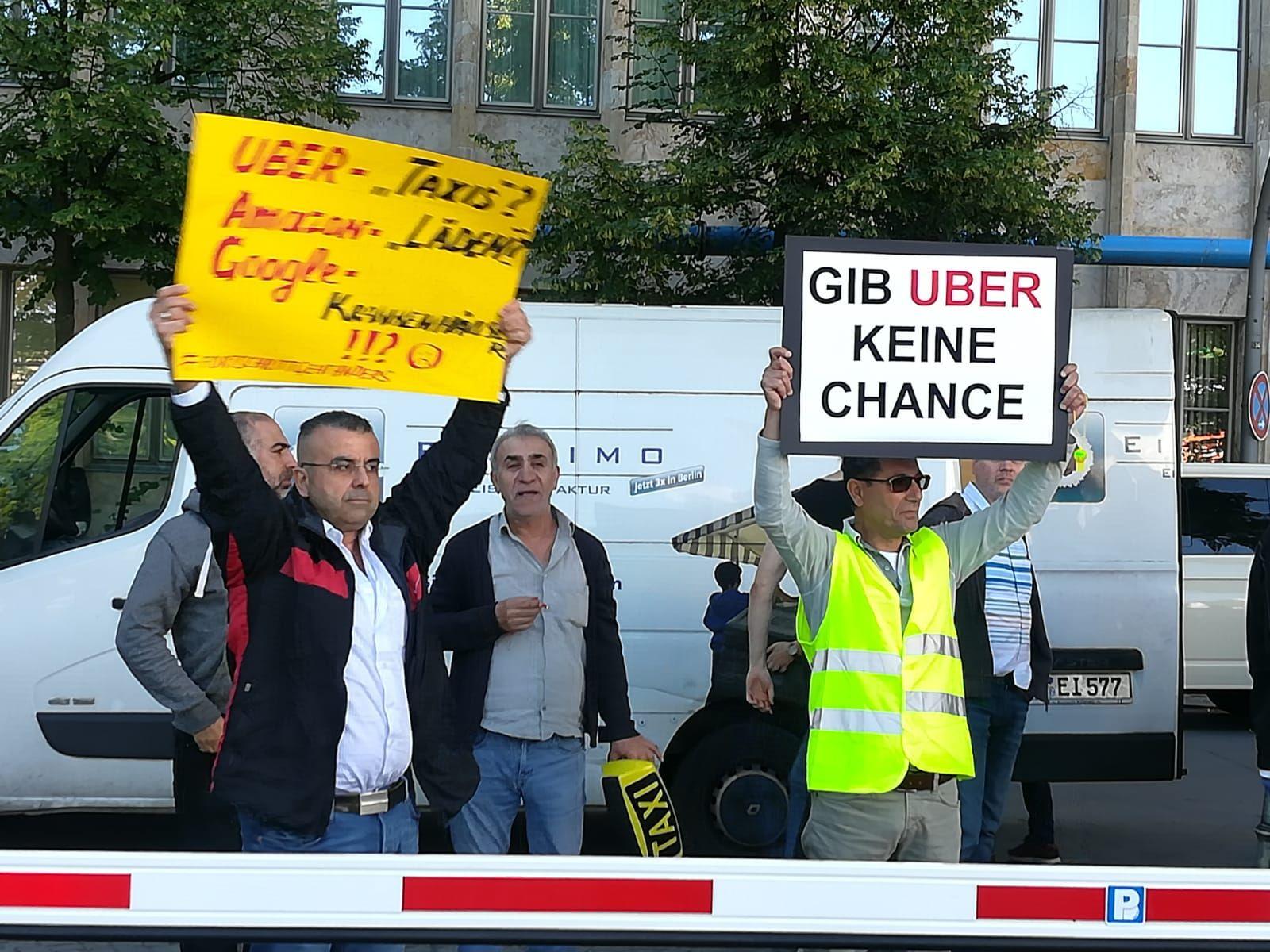 Uber Demo Berlin