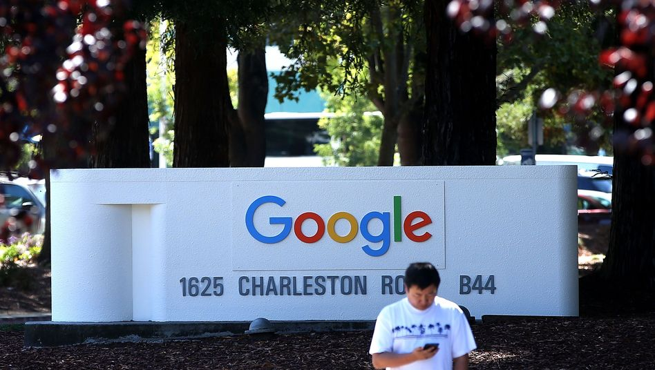 Google-Zentrale in Mountain View: Deutlicher Männerüberhang