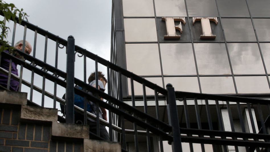 "Zentrale der ""Financial Times"" London."