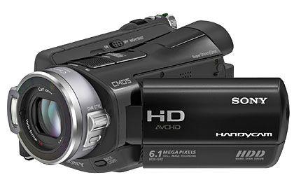 Handliche IFA-Stars: In Berlin werden auch viele Camcorder zu sehen sein - wie die Handycam HDR SR7 von Sony