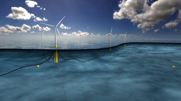 Hart am Wind: Diese schwimmenden Kraftwerke sollen Europas Energieversorgung sicherer machen