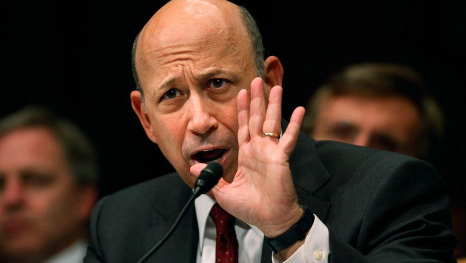 Verdonnert: Goldman-Chef Blankfein hatte lange alle Vorwürfe von sich gewiesen - jetzt muss er zahlen