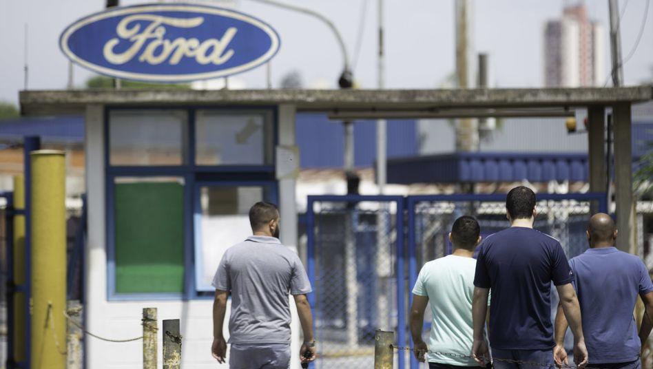 Inzwischen geschlossenes Ford-Werk in Brasilien: Der Autobauer sagt dem Land in Südamerika adieu