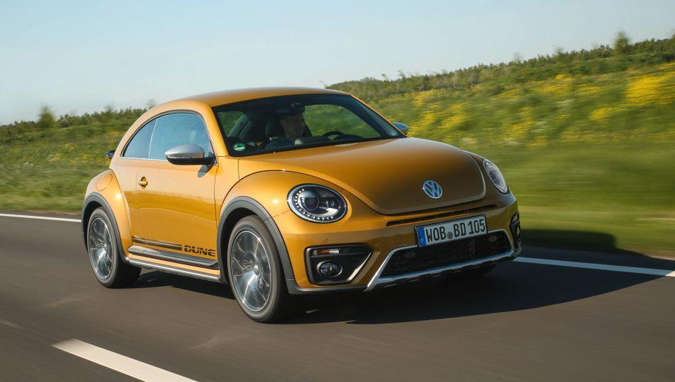 Erst Käfer, dann Beetle: Seit 1949 produziert Volkswagen die Autos mit den kultigen Rundungen - 2019 soll Schluss sein.