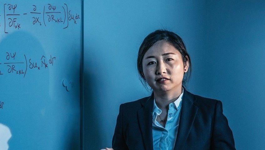 """Erfolgsformel: Xiaoying Zhuang (36) forscht und lehrt am Institut für Kontinuumsmechanik der Universität Hannover. Parallel ist sie Professorin in China. Jetzt erhielt sie den """"Curious Minds Award 2019"""""""