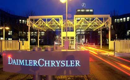 DaimlerChrysler-Zentrale in Sindelfingen: Wasserkopf muss weg