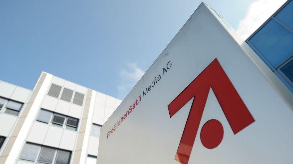 ProSiebenSat1-Zentrale in Unterföhring bei München: Kurssprung an der Börse
