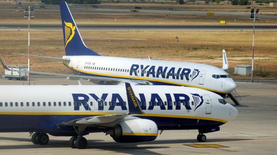Ryanair-Flieger: Am Freitag bleiben die Flugzeuge in Deutschland wohl überwiegend am Boden