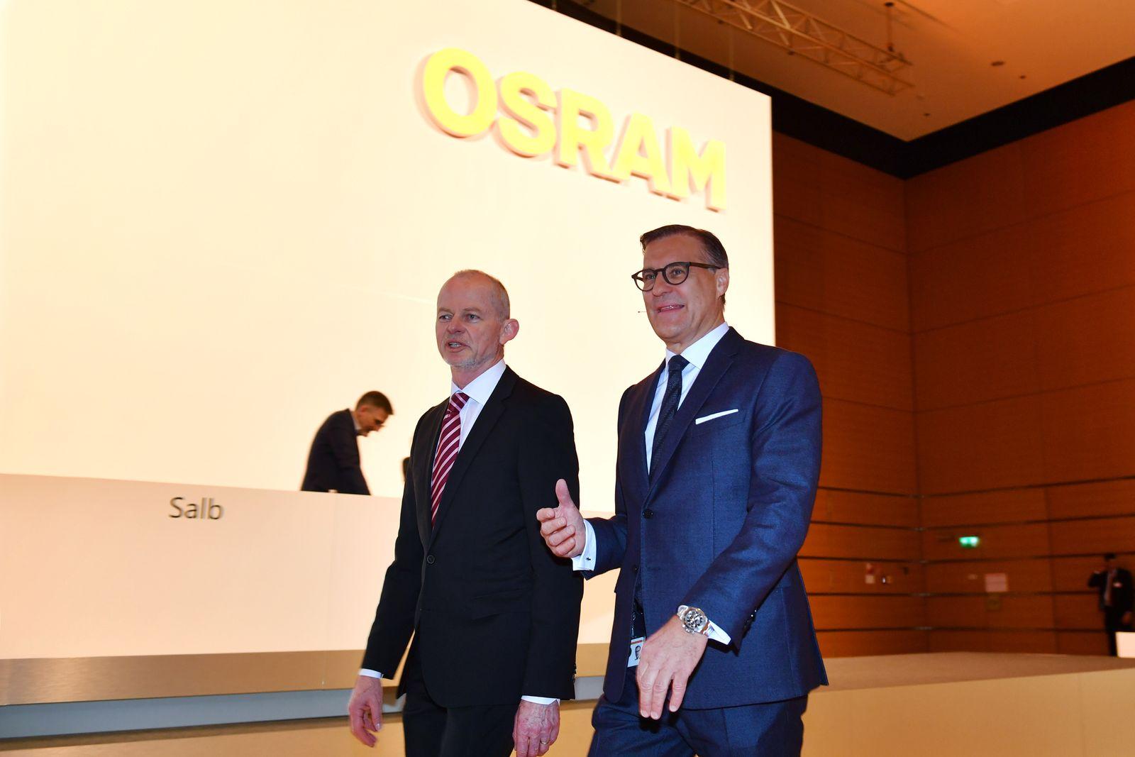 OSRAM Hauptversammlung 2020.