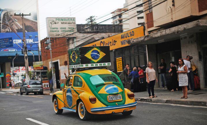 Volkswagen in Brasilien: Die Vergangenheit könnte Volkswagen in dem lateinamerikanischen Land, in dem der Konzern seit Jahrzehnten produziert, jetzt vor Gericht einholen