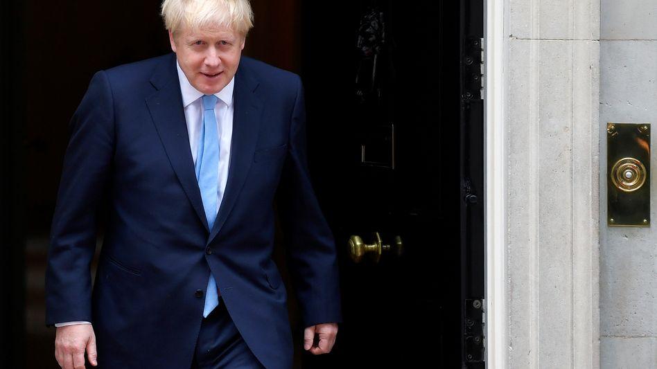 Hardliner: Boris Johnson will nachverhandeln