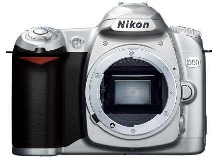 Einsteigermodell: Nikon Digitalkamera D50