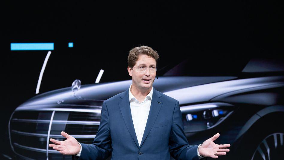 Auf Konfliktkurs: Daimler-Chef Ola Källenius