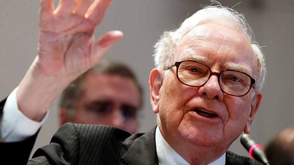 Nimmt neun Milliarden Dollar am Anleihemarkt auf: Multimilliardär und Berkshire Hathaway-Chef Warren Buffett