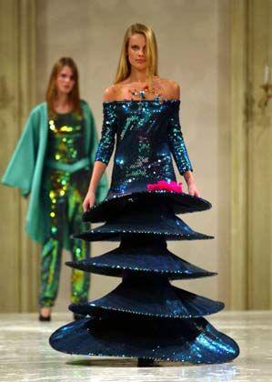 Extravagant: Entwürfe von Pierre Cardin