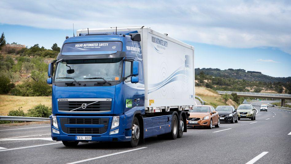 Volvo-Testgelände: Im Branchenvergleich gelten die Schweden als renditestark - das erste Quartal bildet wohl eine Ausnahme