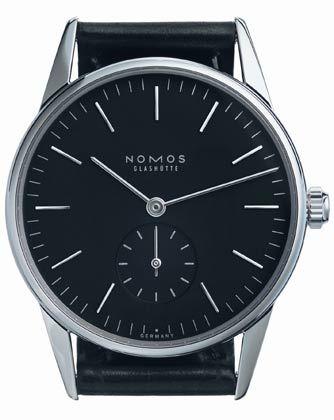 "Edle Armbanduhr: Modell ""Orion"" von Nomos Glashütte"