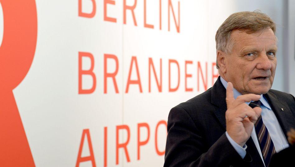 Große Worte, wenig Taten: Flughafen-Manager Mehdorn