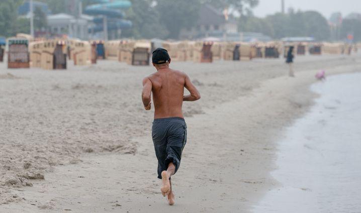 Immer auf der Suche nach Grenzerfahrungen: Der junge Wilde liebt sportliche Herausforderungen