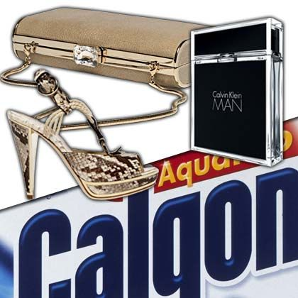 Globales Markenimperium: Geschirrspüler-Tabs von Calgonit, Edelparfüms von Calvin Klein sowie Designerschuhe und Handtaschen von Bally