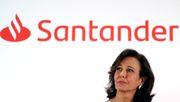 Santander wird zu Europas Krisenbank