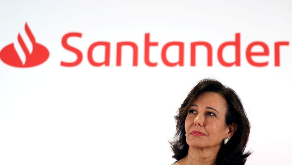 Der erste Verlust in 163 Jahren: Executive Chairwoman Ana Botín.