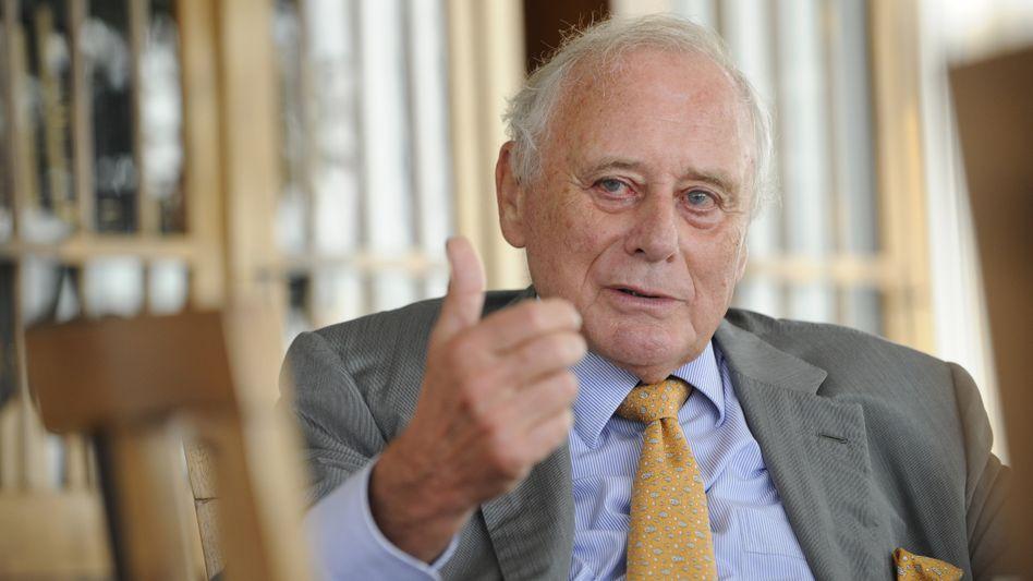 Unternehmer Reinhold Würth: Euro-Bonds als letzter Ausweg