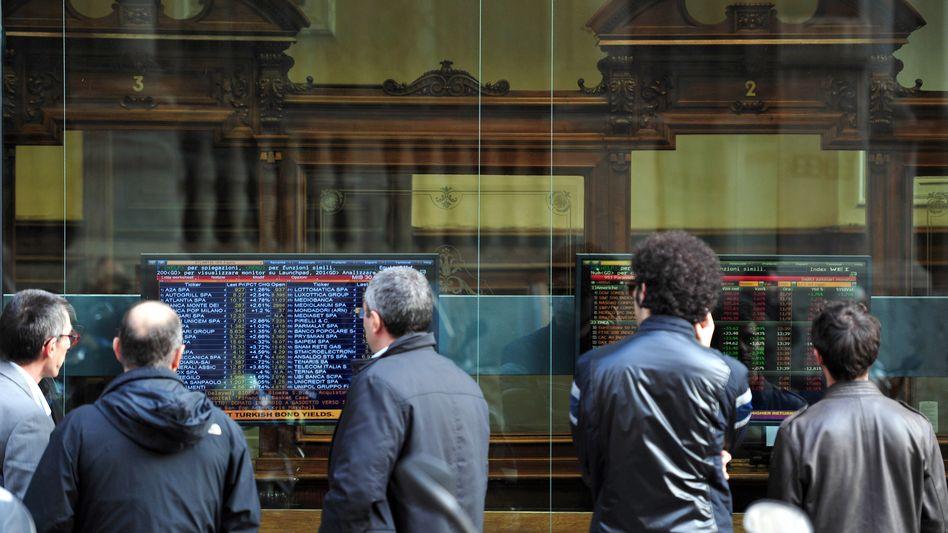 Banken im Visier: Italienische Kommunen stehen wegen intransparenter Derivategeschäfte mit diversen Banken (hier Mailand) im Streit