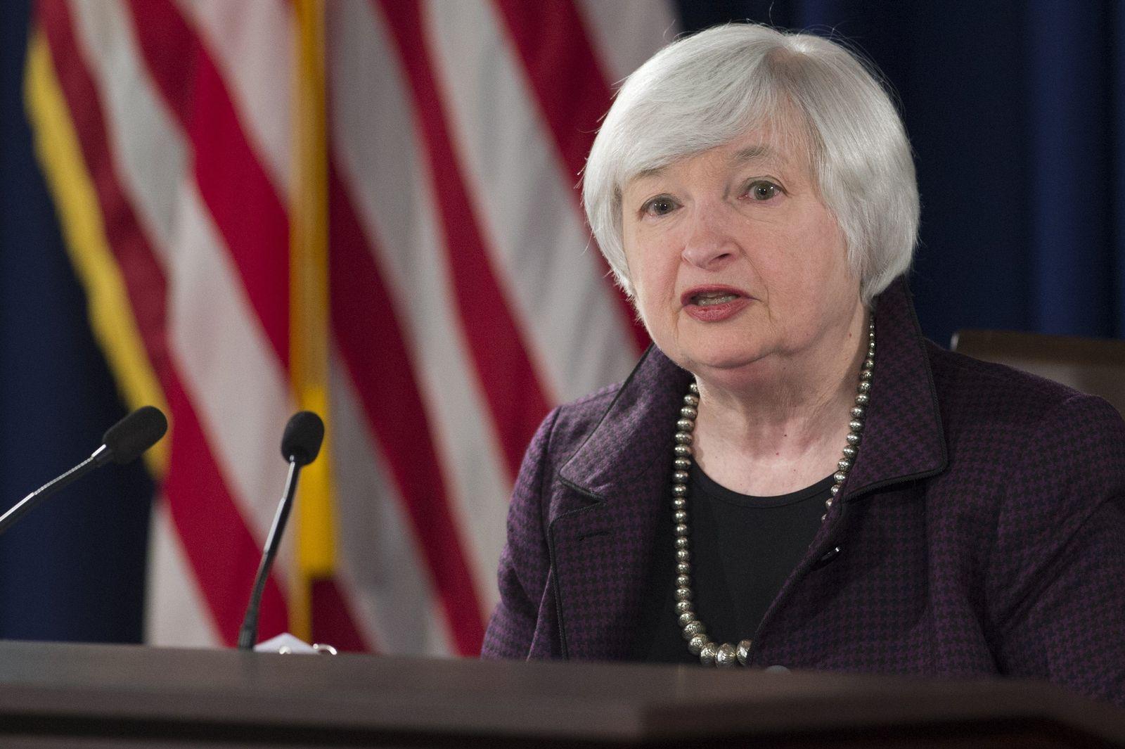US-Wirtschaft/Janet Yellen
